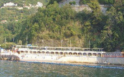 Barriera Antinquinamento presente sulla Costiera Sorrentina